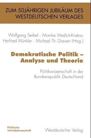 Demokratische Politik - Analyse und Theorie
