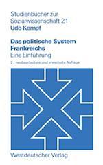 Das politische System Frankreichs af Udo Kempf