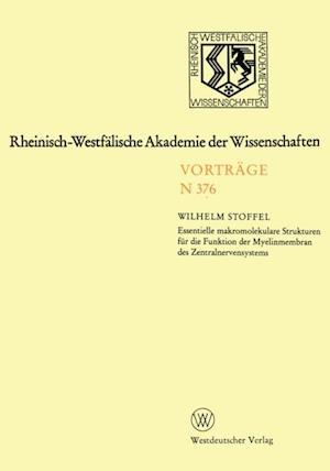 Rheinisch-Westfalische Akademie der Wissenschaften af Wilhelm Stoffel