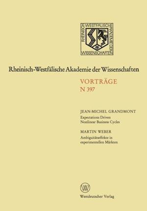 Rheinisch-Westfalische Akademie der Wissenschaften af Jean-Michel Grandmont