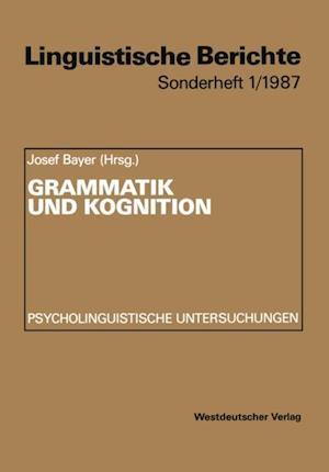 Grammatik und Kognition