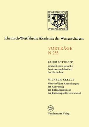 Natur-, Ingenieur- und Wirtschaftswissenschaften af Erich Potthoff