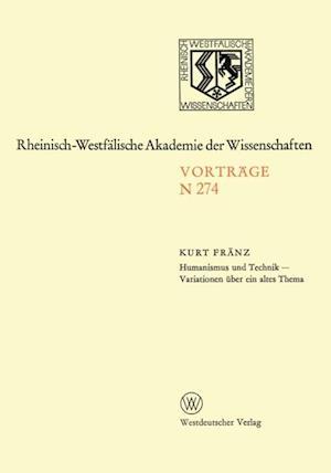 Natur-, Ingenieur- und Wirtschaftswissenschaften af Kurt Franz