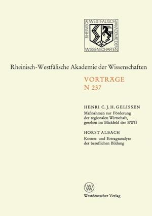 Natur-, Ingenieur- und Wirtschaftswissenschaften af Henri C. J. H. Gelissen