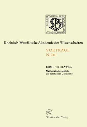 Mathematische Modelle der kinetischen Gastheorie af Edmund Hlawka
