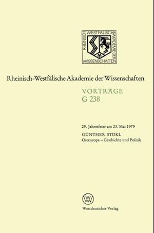 Osteuropa - Geschichte und Politik af Gunther Stokl