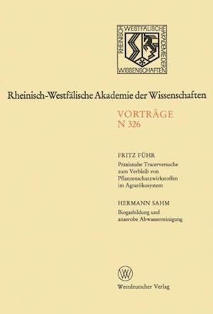 Praxisnahe Tracerversuche zum Verbleib von Pflanzenschutzwirkstoffen im Agrarokosystem af Fritz Fuhr