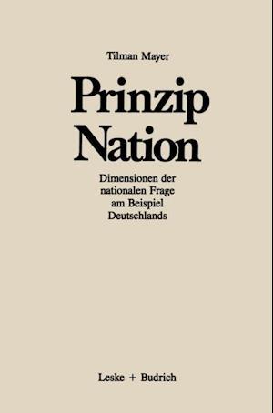 Prinzip Nation af Tilman Mayer