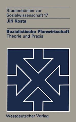 Sozialistische Planwirtschaft af Jiri Kosta