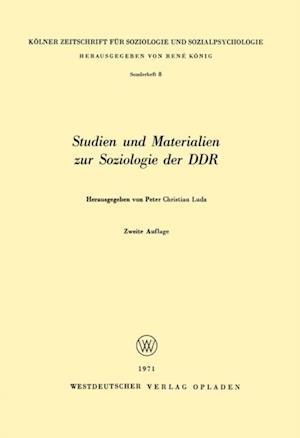 Studien und Materialien zur Soziologie der DDR