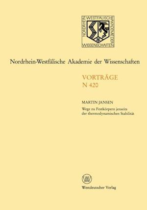 Nordrhein-Westfalische Akademie der Wissenschaften af Martin Jansen