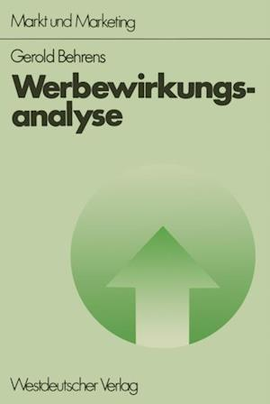 Werbewirkungsanalyse af Gerold Behrens