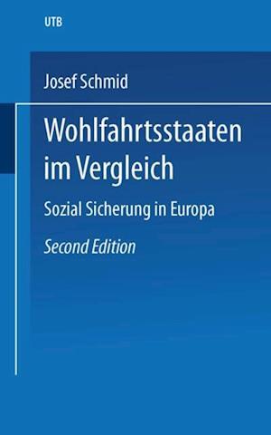 Wohlfahrtsstaaten im Vergleich af Josef Schmid