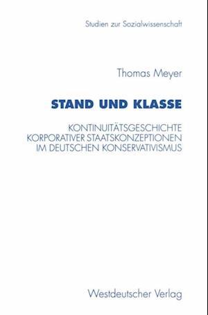Stand und Klasse af Thomas Meyer
