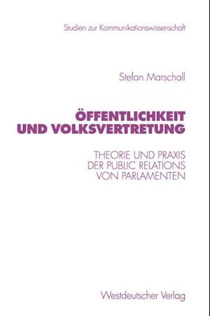 Offentlichkeit und Volksvertretung af Stefan Marschall