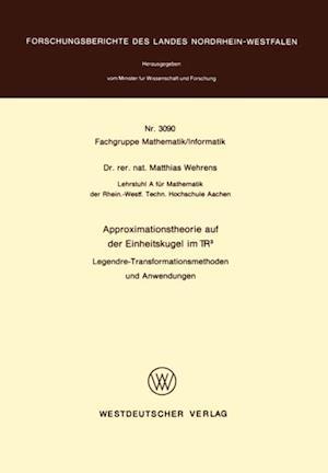 Approximationstheorie auf der Einheitskugel im R3 af Matthias Wehrens
