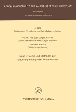 Neue Systeme und Methoden zur Steuerung mittelgroer Unternehmen af Jurgen Bussiek