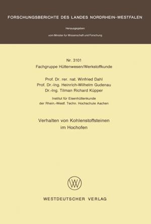 Verhalten von Kohlenstoffsteinen im Hochofen af Winfried Dahl