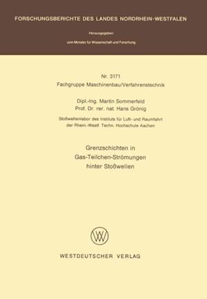 Grenzschichten in Gas-Teilchen-Stromungen hinter Stowellen af Martin Sommerfeld