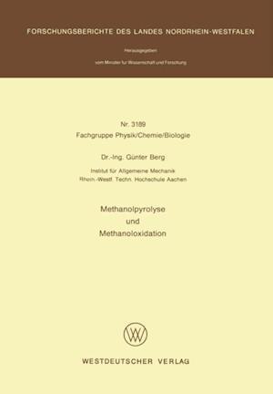 Methanolpyrolyse und Methanoloxidation