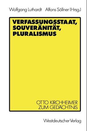 Verfassungsstaat, Souveranitat, Pluralismus