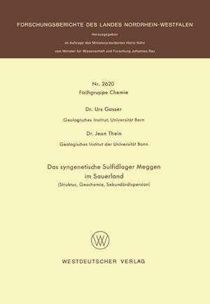 Das syngenetische Sulfidlager Meggen im Sauerland