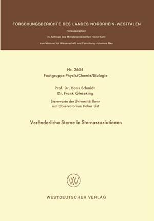 Veranderliche Sterne in Sternassoziationen af Hans Schmidt