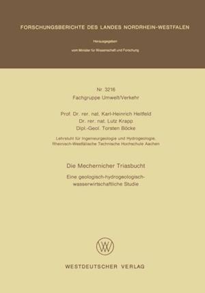Die Mechernicher Triasbucht af Karl-Heinrich Heitfeld