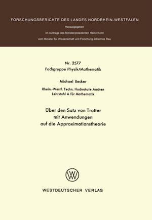 Uber den Satz von Trotter mit Anwendungen auf die Approximationstheorie af Michael Becker