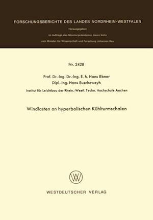 Windlasten an hyperbolischen Kuhlturmschalen af Hans Ebner