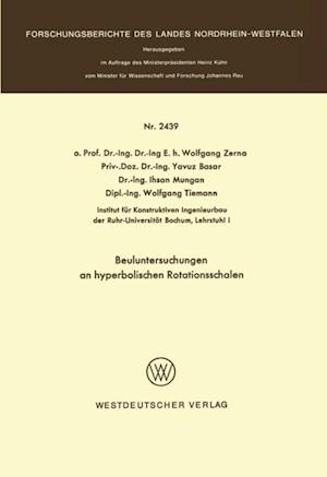 Beuluntersuchungen an hyperbolischen Rotationsschalen