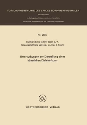 Untersuchungen zur Darstellung eines kunstlichen Dielektrikums af J. Pautz