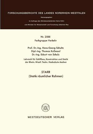 STARR (Statik raumlicher Rahmen) af Hans-Georg Schultz