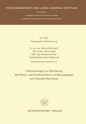 Untersuchungen zur Optimierung des Wasch- und Finishverhaltens von Mischgeweben aus Polyester/Baumwolle