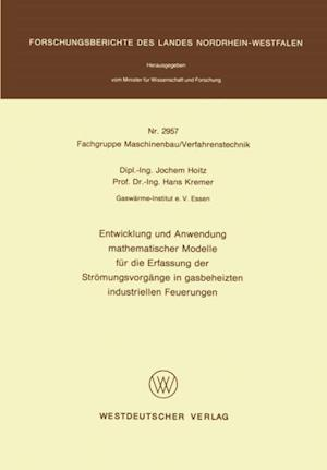 Entwicklung und Anwendung mathematischer Modelle fur die Erfassung der Stromungsvorgange in gasbeheizten industriellen Feuerungen af Jochem Hoitz