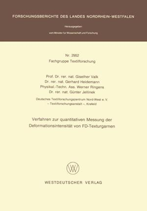 Verfahren zur quantitativen Messung der Deformationsintensitat von FD-Texturgarnen