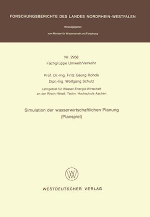 Simulation der wasserwirtschaftlichen Planung (Planspiel)
