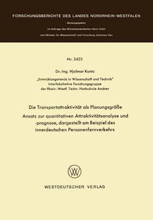 Die Transportattraktivitat als Planungsgroe