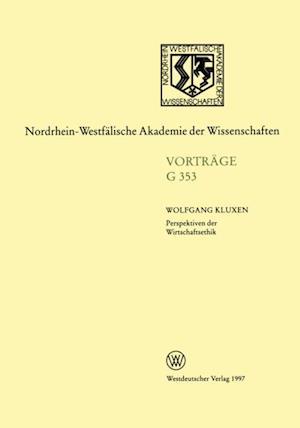 Perspektiven der Wirtschaftsethik af Wolfgang Kluxen