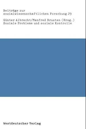 Soziale Probleme und soziale Kontrolle