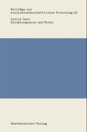 Strukturgenese und Moral af Detlef Garz