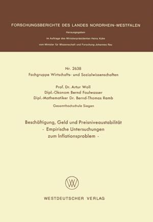 Beschaftigung, Geld und Preisniveaustabilitat af Artur Woll