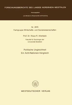 Politische Ungleichheit af Klaus Allerbeck