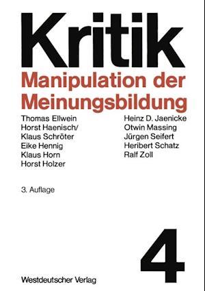 Manipulation der Meinungsbildung