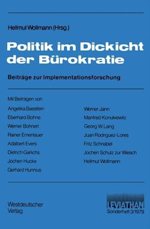 Politik im Dickicht der Burokratie