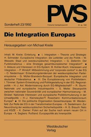 Die Integration Europas