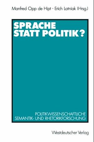 Sprache statt Politik?