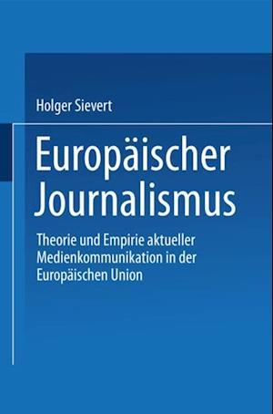 Europaischer Journalismus