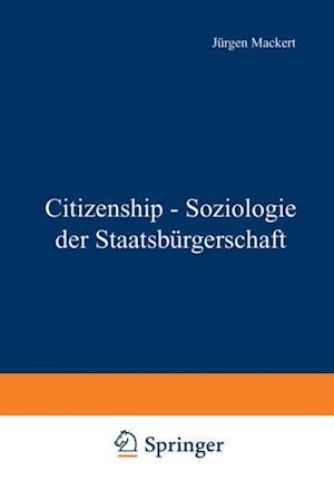 Citizenship - Soziologie der Staatsburgerschaft