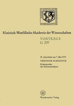 Krisenpunkte des Hochmittelalters af Theodor Schieffer